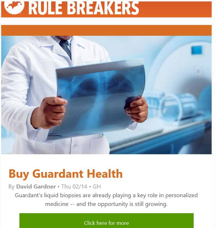 Motley Fool Rule Breakers New Stock Recommendation
